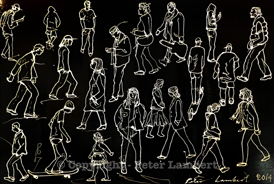 People on the Street - 2014, Sold