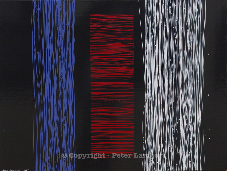 Red, White and Blue Lines - 2007, Sold
