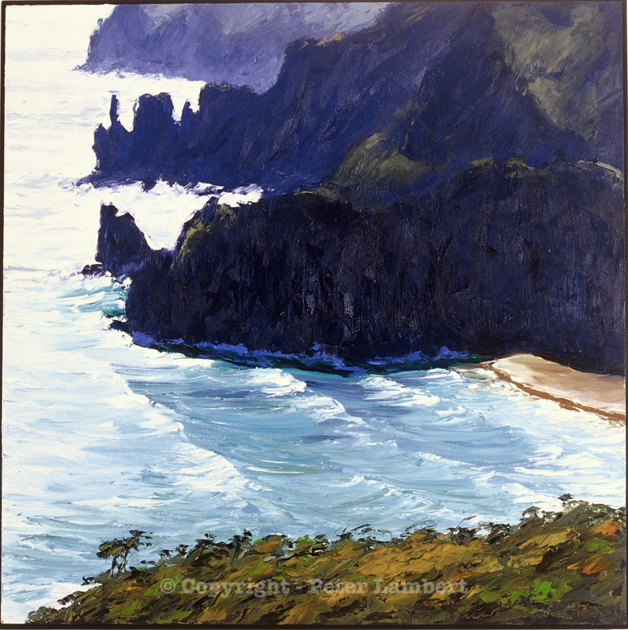 Coastline North of Piha - 2004, Sold