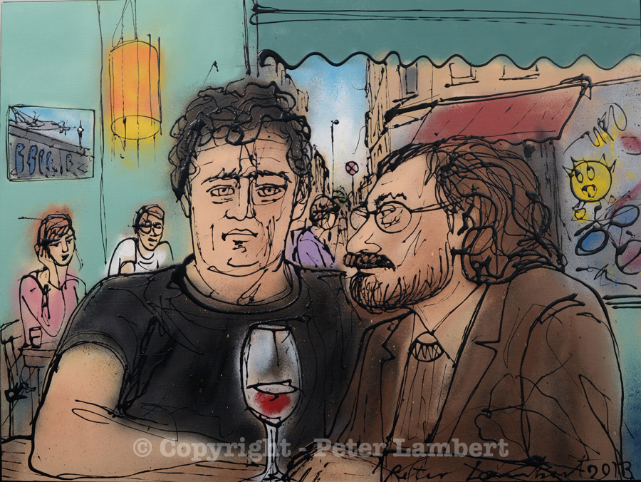 Wine Time, Berlin - 2013, Sold