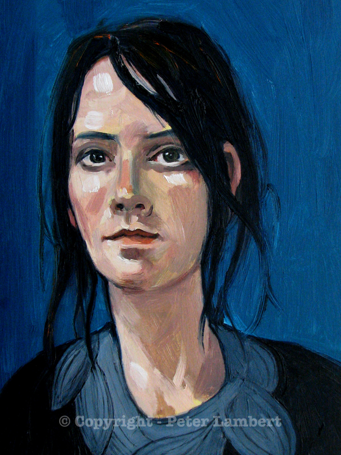 Jessie - 2007, Oil on board, Artist's Collection