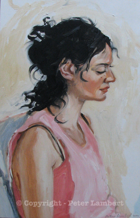 Donna - 2006, Oil on board, Artist's Collection