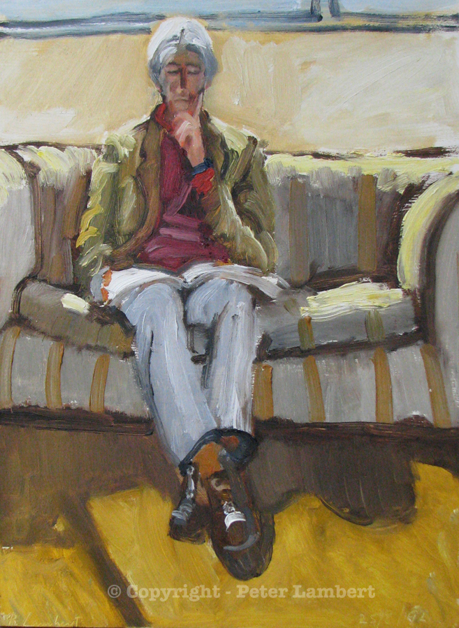 Don Driver Reading - 1992, Sold