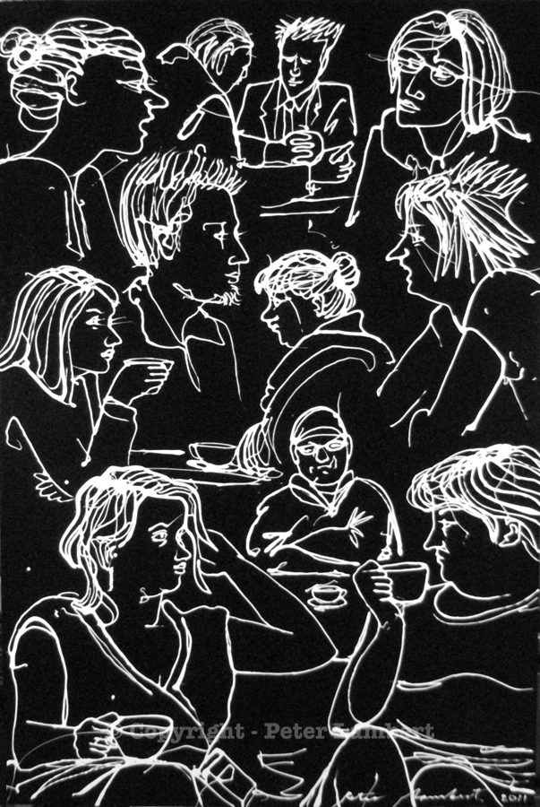 Conversations, Cafe Chaos - 2011, Sold