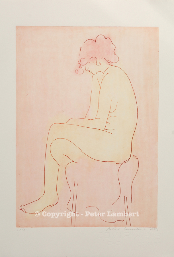 Seated Nude - 2005