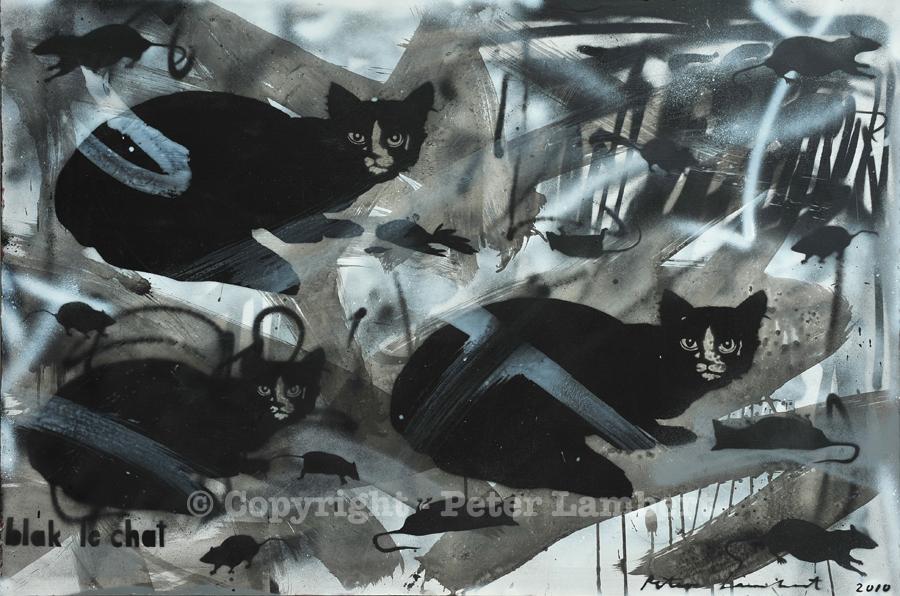 Blak le Chat - 2010, Sold