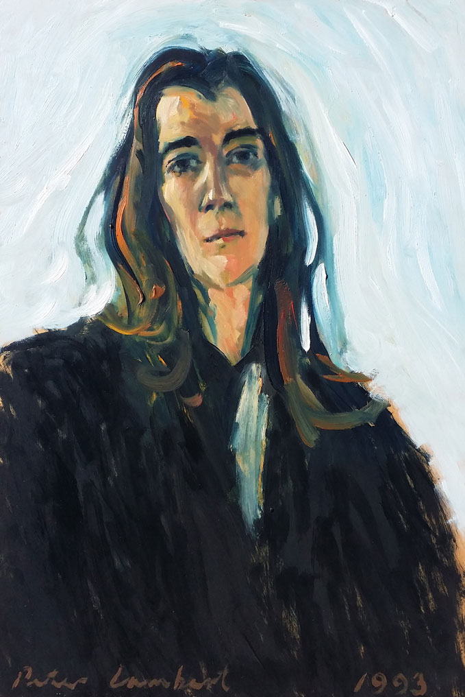 Susie Jones - 1993, Oil on board,  Artist's Collection