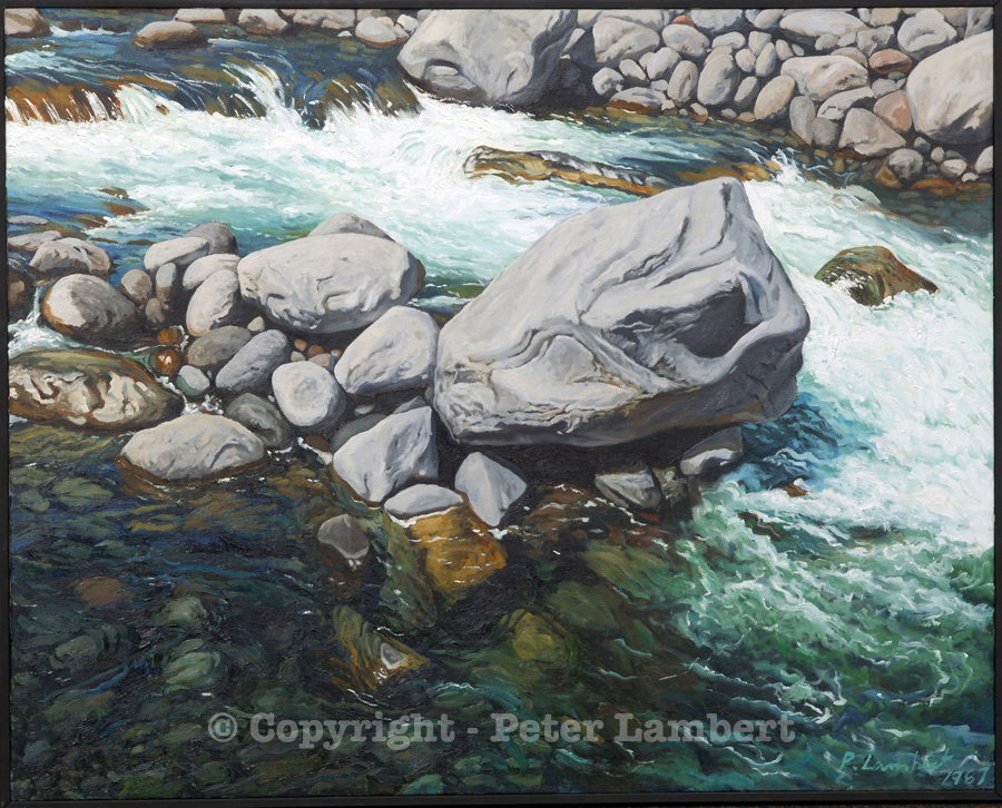 Hangatahua / Stony River - 1987, Sold