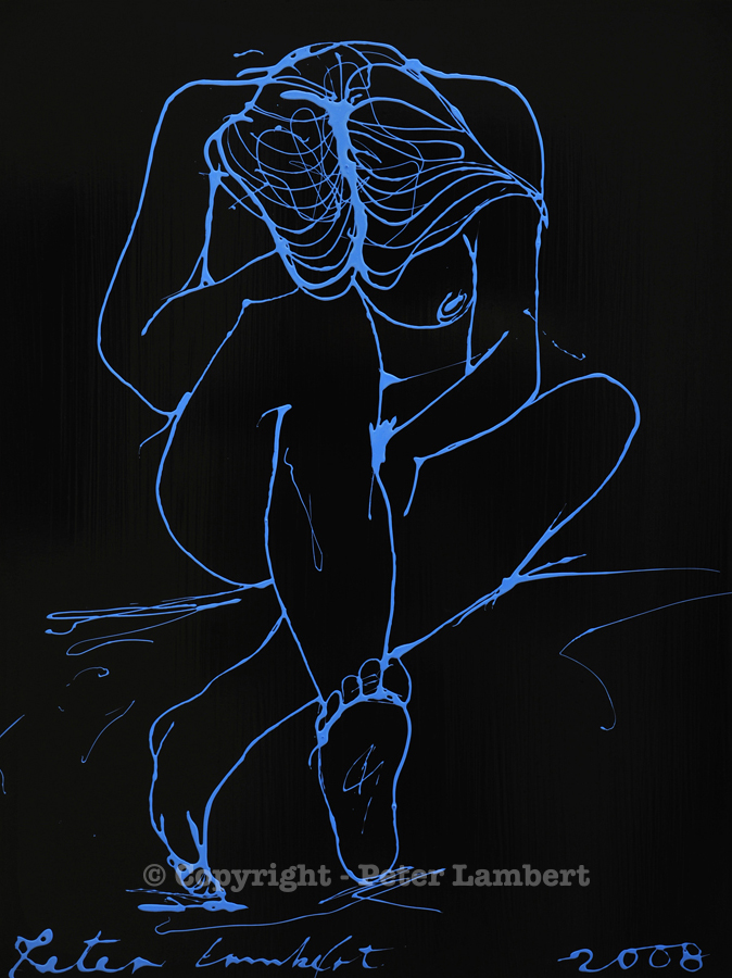 Blue Nude - 2008, Sold