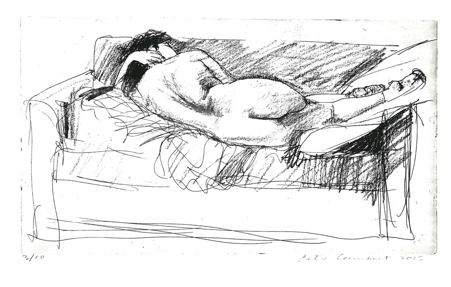Nude on Couch - 2015