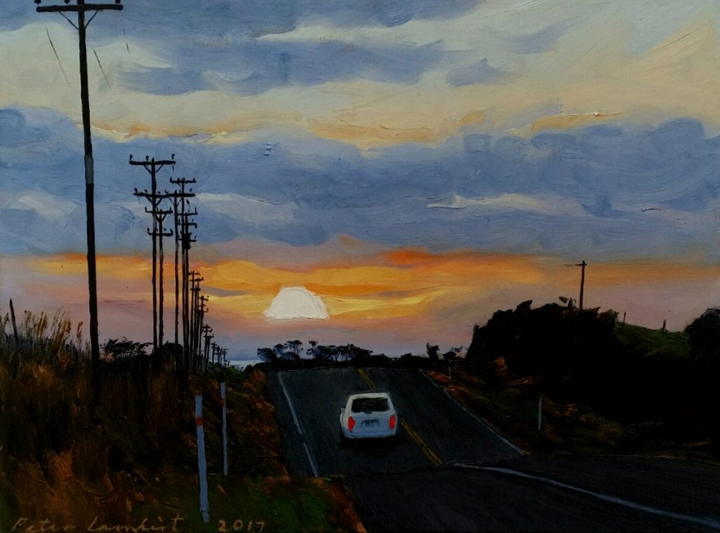Driving off into the Sunset - 2017, Sold