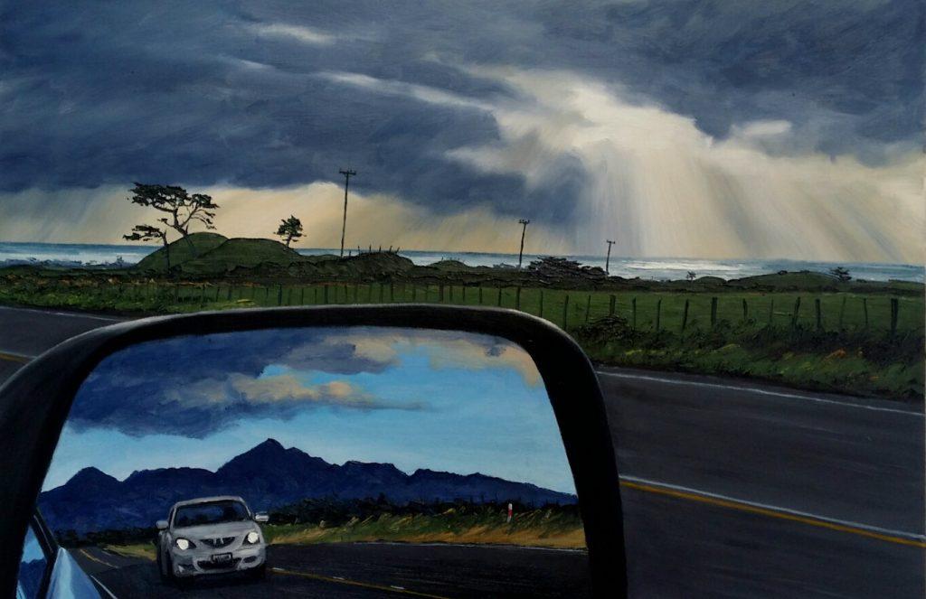 Komene Road and Wing Mirror with Kaitake Rangers - 2017 Sold