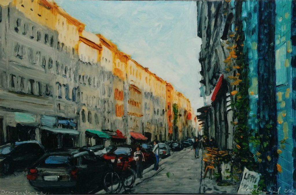 Late Afternoon, Oranienstrasse 2012, Sold