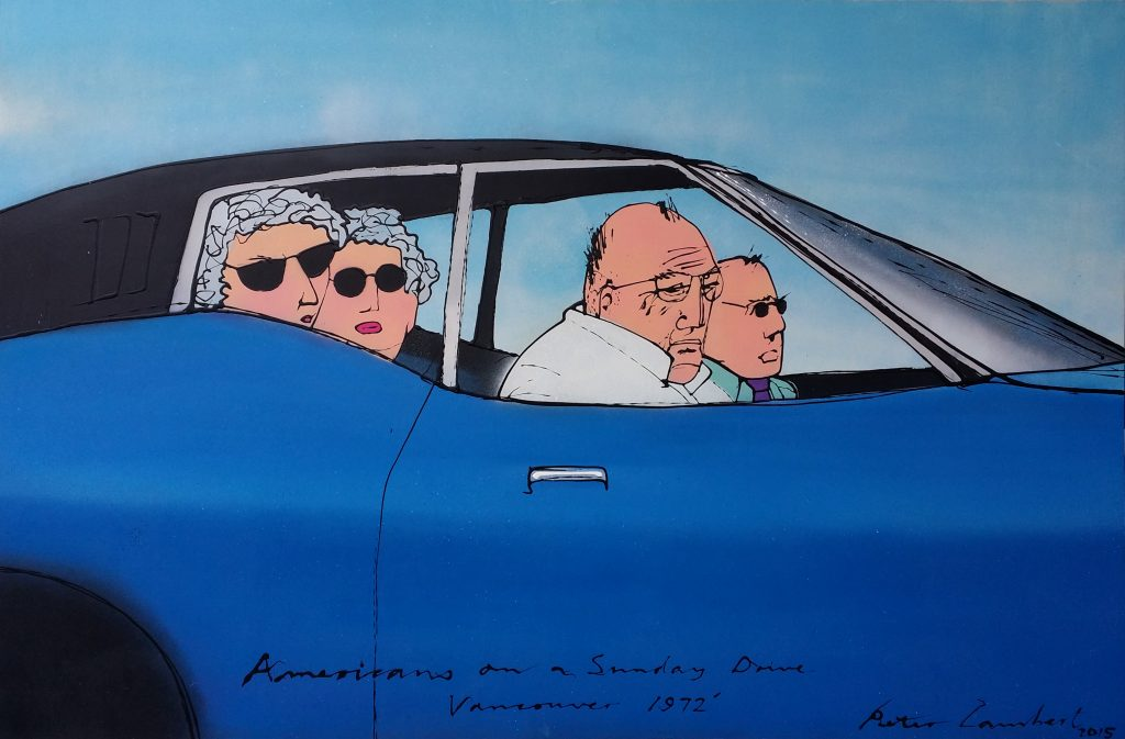 Americans on a Sunday Drive - 2015