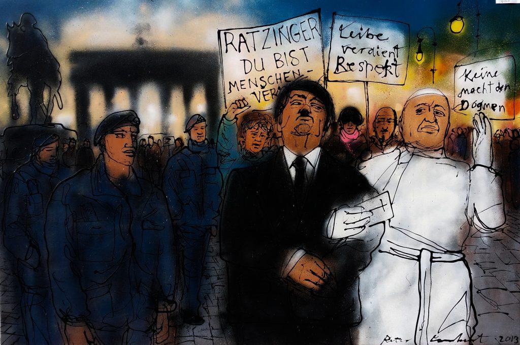 Anti Pope Demonstration Berlin 20th September 2011 - 2019